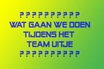 Broodfonds Teamuitje